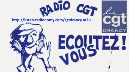 cgt, drancy, henri tamar, radio, web